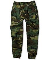 10 Deep Siler Woodland Camo Slim Fit Jogger Pants