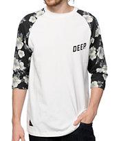 10 Deep Slope Baseball T-Shirt