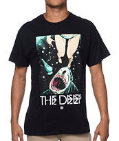 10 Deep The Deep Black Tee Shirt