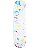"""3D Gillette Stains 8.125"""" Skateboard Deck"""