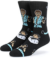 40s & Shorties Action Heroes Crew Socks