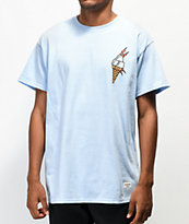 40s & Shorties Ice Cream Blue T-Shirt