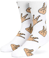40s & Shorties Westside Fingers Crew Socks