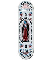 """5Boro Cinco Barrios 8.5"""" Skateboard Deck"""
