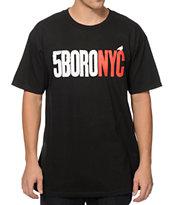 5Boro Letterpress Logo T-Shirt