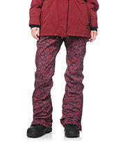 686 Authentic Gossip Paisley 10K Softshell Snowboard Pants