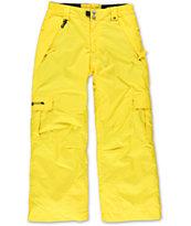 686 Boys Mannual Ridge Lava 5K 2014 Snowboard Pants