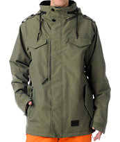 686 M-65 Army Green 10K Snowboard Jacket