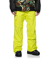 686 Mannual Data Acid Green 8K 2014 Snowboard Pants