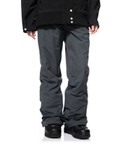 686 Mannual Patron Charcoal Grey Women's 2014 Snowboard Pants