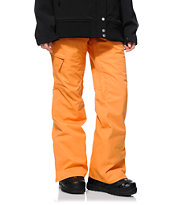 686 Mannual Patron Orange 10K Girls 2014 Snowboard Pants