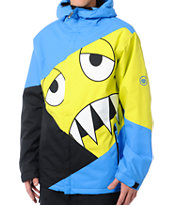 686 Snaggleface 8K Blue Snowboard Jacket