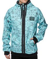 686 x Crooks and Castles LTD Marble Tech Fleece Jacket