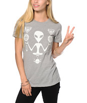 A-Lab Alien Chillin Glow In The Dark T-Shirt