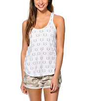 A-Lab Betty Cat Faces Tank Top