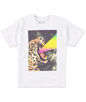 A-Lab Boys Power Cat White T-Shirt