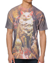A-Lab Cat Majestic Sublimated Tee Shirt