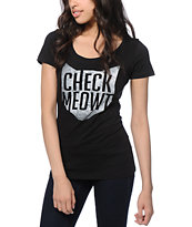 A-Lab Check Meowt T-Shirt