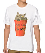 A-Lab Cup Cat T-Shirt
