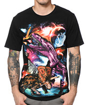A-Lab Dino Moon Attack Tee Shirt