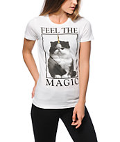 A-Lab Feel The Magic Cat T-Shirt