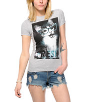 A-Lab Fresh Cat Glasses T-Shirt