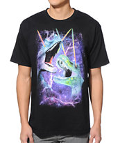 A-Lab Jurassic Galaxy Black Tee Shirt