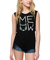 A-Lab Lauryn Meow Muscle Tee