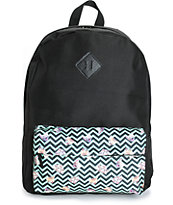 A-Lab Olga Chevron Cat Backpack
