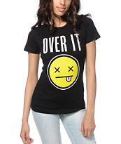 A-Lab Over It Smiley T-Shirt