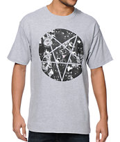 A-Lab Pentacat Heather Grey Tee Shirt