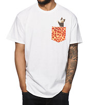 A-Lab Pizza Cat Pocket T-Shirt