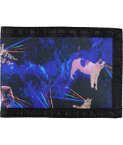 A-Lab Relief Space Kitty Bi-Fold Wallet