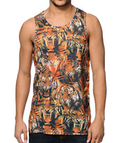 A-Lab Roared Tiger Sublimated Tank Top