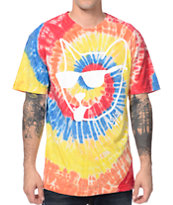 A-Lab Rude Boi Catta Tie Dye Tee Shirt