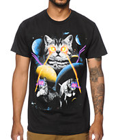 A-Lab Space Laser Cat Tee Shirt