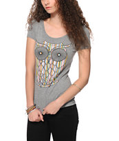 A-Lab Stripe Owl T-Shirt