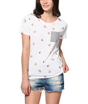 A-Lab Tosh Cat Pocket Tee Shirt