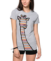A-Lab Tribal Necking T-Shirt