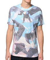 A-Lab Where Eagles Dare Sublimated Tee Shirt