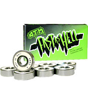 ATM Abec 5 Fast As Hell Chrome Shield Skateboard Bearings