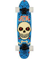 """ATM Bigote 28"""" Pinner Cruiser Complete Skateboard"""