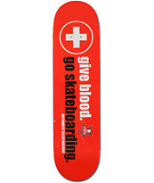 "ATM Give Blood 8.25"" Skateboard Deck"
