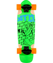 ATM Hot Dog Green 27 Complete Cruiser Skateboard