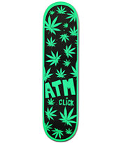 "ATM One Hit Wonder 8.0"" Weed Print Skateboard Deck"