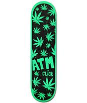 """ATM One Hit Wonder 8.0"""" Weed Print Skateboard Deck"""