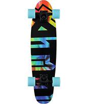 ATM Tie Dye 28 Pinner Cruiser Complete Skateboard