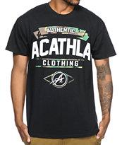 Acathla AC Camo Black T-Shirt