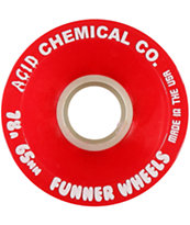 Acid Chemical Co Funner Classic Cut 65mm Cruiser Wheels