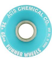 Acid Chemical Co Funner Classic Cut 65mm Cruiser Wheels